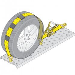 Стяжка груза 2,5т 50мм х 3,0м автовозный метод, Evakuator Shop