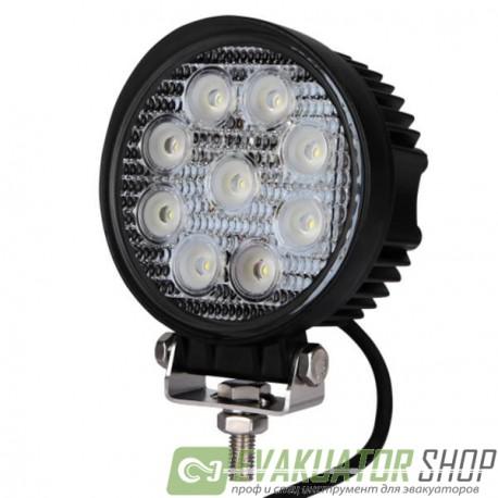 Фонарь (LED) 27W Круглый