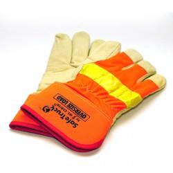 Перчатки профессионального эвакуаторщика теплые
