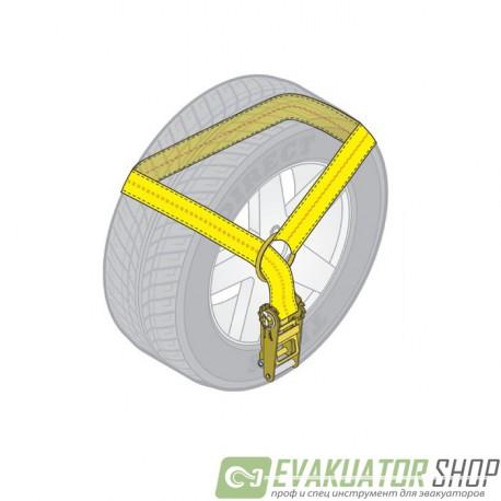 Стяжка груза 3т/5м 50мм метод Лассо 1 шт.