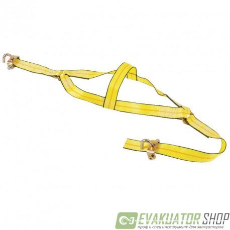 Запасная ленточная стропа 2,5т 50мм х 3,0м метод Корзина