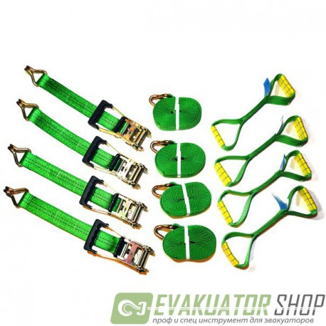 Фирменный набор для фиксации на платформе, Evakuator Shop