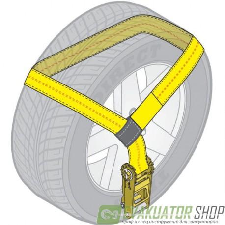 Стяжка груза 2,5т 50мм х 2,0м метод Лассо 1 шт.
